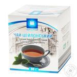 Чай Еврогруп 80 г карт. чорний цейлонський байховий