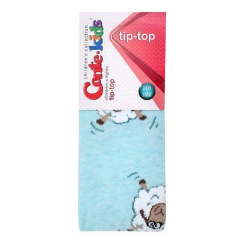 Колготы Conte Kids Tip-Top детские хлопковые бледно-бирюзовые 116-122р
