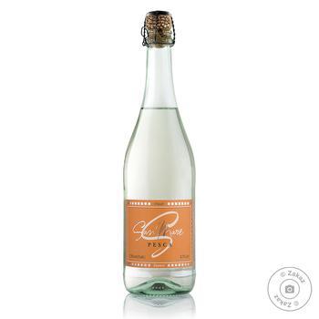 Вино ігристе San Mare Pesca біле солодке зі смаком персика 7,5% 0,75л