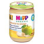 Каша дитяча ХіПП Яблука та банани з зерновими пластівцями Фрукти та зерно з 6 місяців 190г