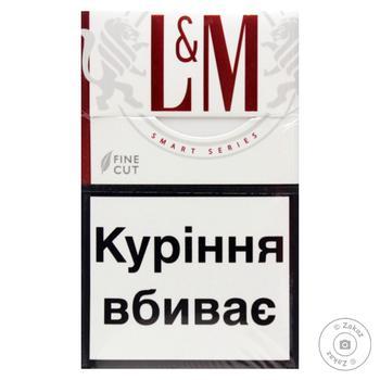 Сигареты L&M Red Label 20шт - купить, цены на Ашан - фото 2