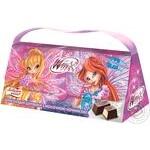 Набор подарочный Любимов Kids Winх Club: шоколадные конфеты с молочной начинкой 100г