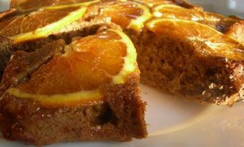 Кавовий пиріг із апельсинами