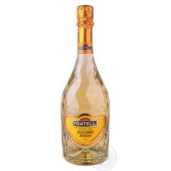 Вино Fratelli Frizzante белое сладкое 0,75л