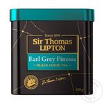Чай Липтон Сер Томас Ерл Грей черний с ароматом бергамота 100г