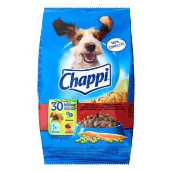Dry dog food Chappi beef and poultry 500g - buy, prices for CityMarket - photo 1