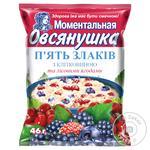 Ovsianushka Porridge Five Cereals with Berries 46g