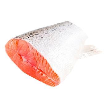 Стейк лосося прихвостовой охлажденный