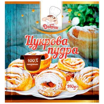 Сахарная пудра Добрик 350г - купить, цены на Ашан - фото 1
