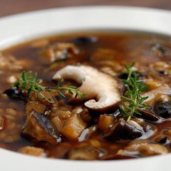 Швидкий грибний суп
