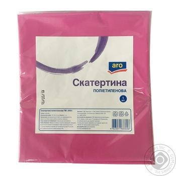 Скатерть Aro полиэтиленовая 1шт - купить, цены на Метро - фото 1