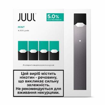 Система электрического нагрева табака Juul Bundle Kit мята 200мАч - купить, цены на Восторг - фото 1