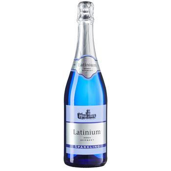 Вино игристое Latinium Sparkling белое полусладкое 8,5% 0,75л