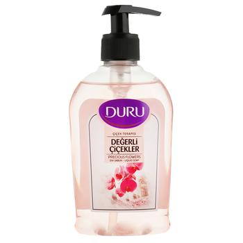 Жидкое мыло Duru с цветочным ароматом 300мл - купить, цены на Varus - фото 1