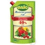 Соус майонезный Оліс экстра 40% 560г