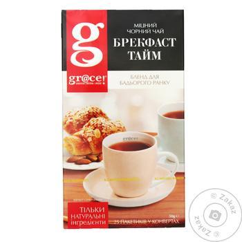 Black tea Grace! Breakfast Time Strong 25*2g teabags
