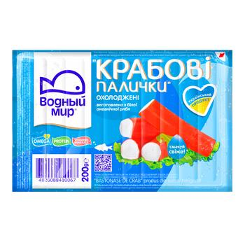 Vodnyj Mir Crab Sticks 200g