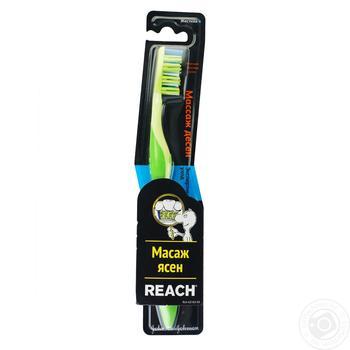 Зубна щітка Reach Dual Effect жорстка - купити, ціни на Ашан - фото 1