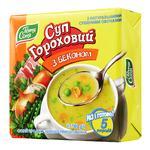 Суп Тётя Соня гороховий з беконом 180г