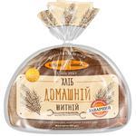 Хлеб Киевхлеб Домашний ржаной половина нарезка 450г