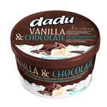 Ice-cream Dadu with chocolate frozen Lithuania