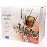 Bohemia Angela Wine Glass 250ml*6pc