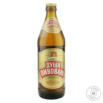 Lispi Dusha Pyvovara Premium light beer 5,2% 0,5l - buy, prices for Novus - image 1