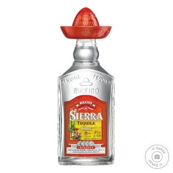 Sierra Silver Tequila 38% 0.04l - buy, prices for CityMarket - photo 1