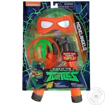 TMNT Evolution Of Ninja Turtles Equipment Michelangelo Game Weapon Set - buy, prices for Tavria V - image 1