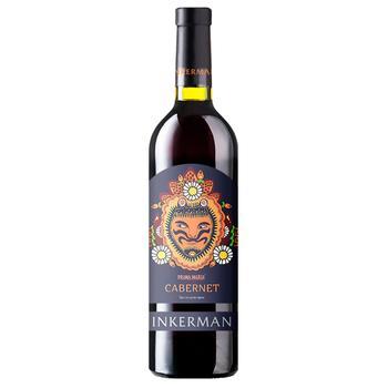 Вино Inkerman Prima Maria Каберне красное сухое 0,75л