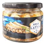 Шпроты Gold of Latvia в масле 250г