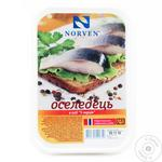 Оселедець Norven 5 перців шматочки в олії  500г