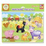 Vladi Toys Farm Soft Puzzles Board Game A4