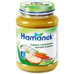 Пюре Hamanek  індичка з запеченими овочами та рисом 190г