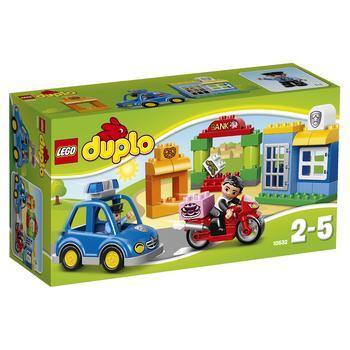 Конструктор Лего Дупло Виль Полиция для детей от 2 до 5 лет 39 деталей
