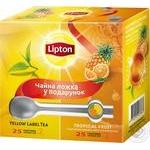 Набір 50 пакетиків + ложка у подарунок Lipton