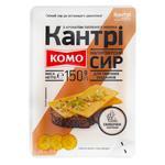 Сыр Комо Кантри полутвердый со вкусом топленого молока нарезанный 50% 150г