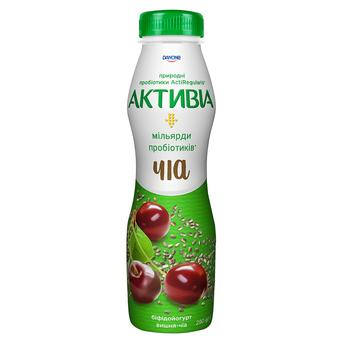Activia with cherry-chia yogurt 1.5% 290g - buy, prices for Novus - image 1