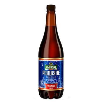 Пиво Львівське Різдвяне темное 4,4% 0,95л