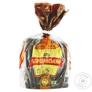 KyivHlib Borodynskyi Sliced Bread 400g - buy, prices for Furshet - image 6