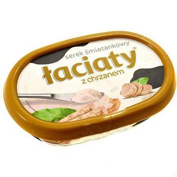 Сыр Лачати сливочный с хреном 135г Польша