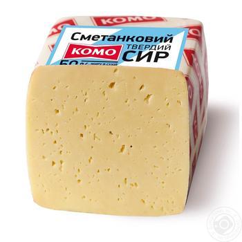 Komo Smetankovyi cheese 50%