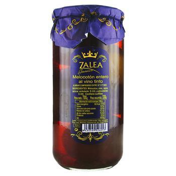 Zalea whole with bone in red wine peach 700g