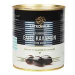 Latrovalis Kalamata Pitted Olives 850ml
