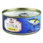 Тунець Alba Food цілий в олії 150г