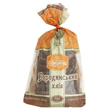 Rumyanets Rye-Wheat Borodynskyi Sliced Bread