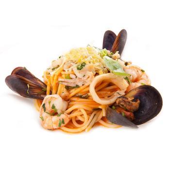 Спагетти al frutti di mare