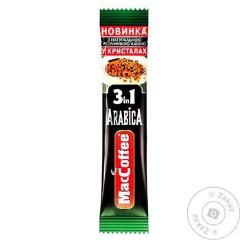 Напій кавовий розчинний MacCoffee Arabica 3в1 16г