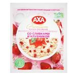 АХА With Cream And Strawberries Quick-Cooking Oatmeal Porridge 40g