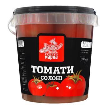 Vegetables tomato Chudova marka salt 600g - buy, prices for Furshet - image 1